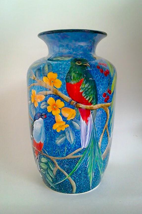 Bird Vase 001