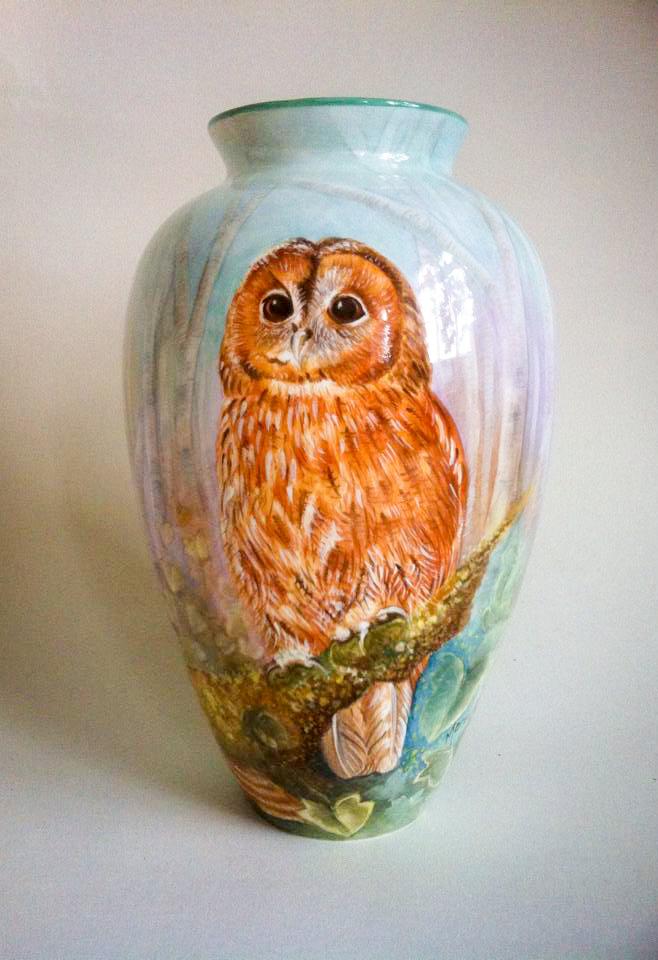 Owl Vase 001