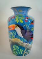 Bird Vase 002