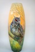 Owl Vase 002