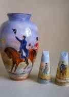Historical Vase and Sugar Shakers